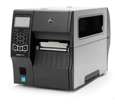 Zebra ZT410, Impresora de Etiquetas, Línea Térmica, 203 x 203 DPI, Bluetooth, USB 2.0, Gris