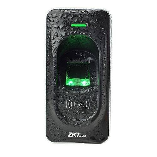 ZKTeco Control de Acceso Biométrico FR1200MF, Huella/Tarjetas MIFARE, RS-485