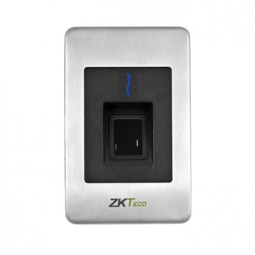 ZKTeco Lector de Huella Digital FR1500, 1x RS-485, Negro/Acero