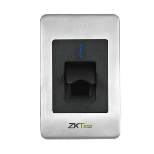ZKTeco Lector de Huella Digital SilkID, RS-485, Acero Inoxidable