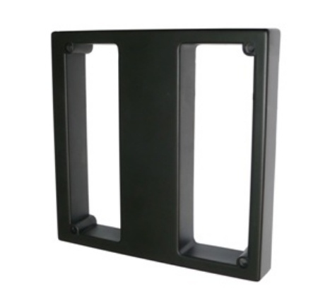ZKTeco Lector Esclavo de Tarjetas KR1000, hasta 80cm, Negro - Requiere Panel de Control de Acceso