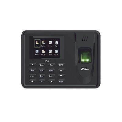 ZKTeco Lector de Huella con Teclado LX40Z, 500 Huellas, USB, Negro