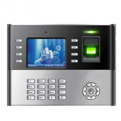 ZKTeco Control de Acceso y Asistencia Biométrico iClock990, 10.000 Usuarios, USB, Negro/Plata