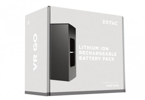 Zotac Cargador Portátil, 6600mAh, para VR GO, 2 Piezas