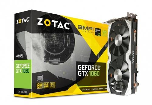 Tarjeta de Video ZOTAC NVIDIA GeForce GTX 1060 AMP! Edition, 6GB 192-bit GDDR5, PCI Express 3.0 x16 ― ¡Compra y recibe Fortnite Counterattack Set!