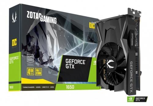Tarjeta de Video Zotac NVIDIA GeForce GTX 1650 Gaming, 4GB 128-bit GDDR5, PCI Express 3.0