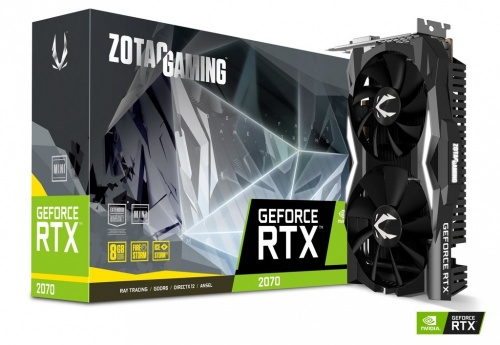 Tarjeta de Video Zotac NVIDIA GeForce RTX 2070 Mini Gaming, 8GB 256-bit GDDR6, PCI Express x16 3.0 ― ¡Compra y recibe 1 juego GRATIS! (a elegir entre Battlefield V o Anthem)