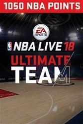 NBA LIVE 18 Ultimate Team, 1050 Puntos, Xbox One ― Producto Digital Descargable