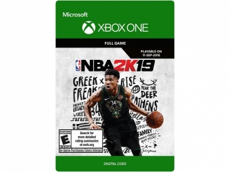 NBA 2K19, Xbox One ― Producto Digital Descargable