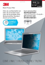 3M Filtro de Privacidad PF17.0W para Laptop, 17'', Widescreen