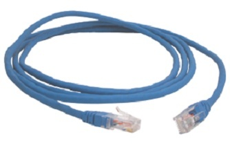 3M Cable Patch Cat6 UTP RJ-45 Macho - RJ-45 Macho, 2 Metros, Azul
