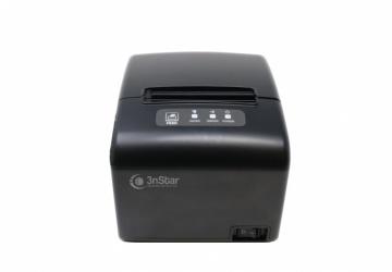 3nStar RPT006 Impresora de Tickets, Térmica Directa, USB/Ethernet/Serial, Negro