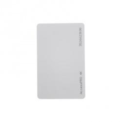 AccessPRO Tarjeta de Proximidad Imprimible ACCESS-CARD-M4K, 5.4 x 8.5cm, Blanco