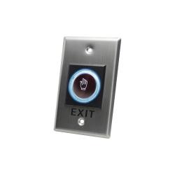 AccessPRO Botón de Salida sin Contacto ACCESSK1, Alámbrico, Acero Inoxidable