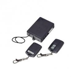 AccessPRO Receptor con Relevador Doble, RF Inalámbrico, Negro