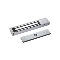 AccessPRO Cerradura Electromagnética MAG600TLED, 18cm x 3.8cm, 280Kg