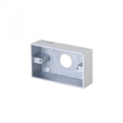 AccessPRO Caja de Montaje para Botón de Salida PRO800-BOX, Cromo
