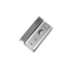 AccessPRO Kit de Montaje en Vidrio para Cerradura Electromagnética PROBEB-700, Aluminio