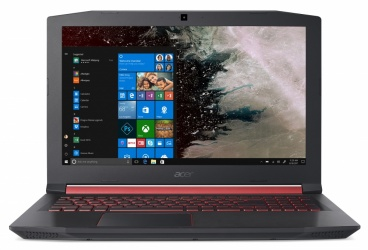 "Laptop Gamer Acer Nitro 5 AN515-52-780V 15.6"" Full HD, Intel Core i7-8750H 2.20GHz, 8GB, 1TB + 128GB SSD, NVIDIA GeForce GTX 1050, Windows 10 Home 64-bit, Negro/Rojo"