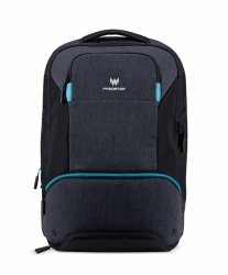 "Acer Mochila de Poliéster Predator Hybrid para Laptop 15.6"", Negro/Azul"