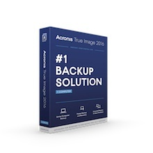 Acronis True Image 2016, 3 Licencias, 1 Año, Windows ― Producto Digital Descargable