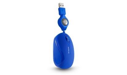 Mouse Acteck Óptico MR-300, Alámbrico, USB, 1000DPI, Azul