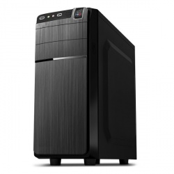 Gabinete Acteck Kiruna AC-05008, ATX/micro-ATX, USB 2.0, con Fuente de 500W, Negro