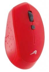 Mouse Acteck Óptico AC-916479, RF Inalámbrico, 1600DPI, Rojo