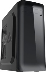 Gabinete Acteck NIALL GI004, Midi-Tower, ATX/Micro-ATX/Mini-ITX, USB 2.0/3.1, con Fuente de 500W, Negro