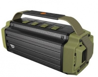 Acteck Bocina Portátil DW-02004, NFC/Bluetooth 4.0, Inalámbrico, 50W RMS, Negro/Verde