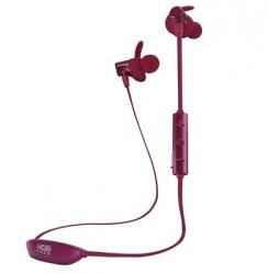 Acteck Audífonos Intrauriculares con Micrófono MB-02024, Inalámbrico, Bluetooth, Borgoña