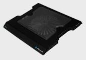 Acteck Base B150 para Laptop 15.4'' - 17'', con 1 Ventilador, Negro