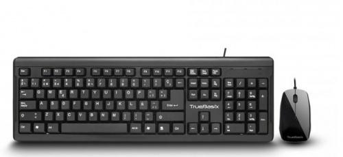 Kit de Teclado y Mouse Acteck TB-01006, Alámbrico, USB, Negro (Español)