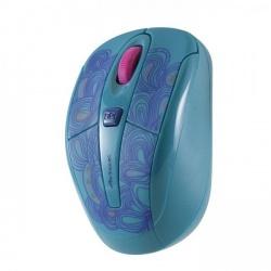 Mouse Acteck Óptico Xplotion MI-550RF, Inalámbrico, USB, 1600DPI, Turquesa