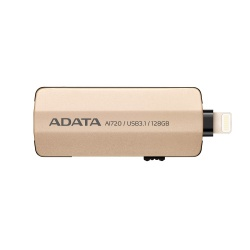 Memoria USB Kingston i-Memory AI720, 64GB, USB 3.1/Lightning, Oro