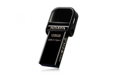 Memoria USB Adata AI920, 128GB, Lightning/ USB 3.0, Negro - para iPhone/iPad/iPod