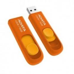 Memoria USB Adata C008, 16GB, USB 2.0, Naranja