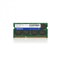 Memoria RAM Adata DDR3, 1333MHz, 1GB, CL9, 204-pin SO-DIMM