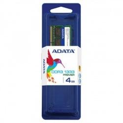 Memoria RAM Adata DDR3, 1333MHz, 4GB, CL9, SO-DIMM