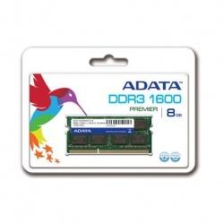 Memoria RAM Adata DDR3, 1600MHz, 8GB, SO-DIMM