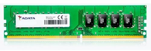 Memoria RAM Adata DDR4, 2400MHz, 8GB, Non-ECC
