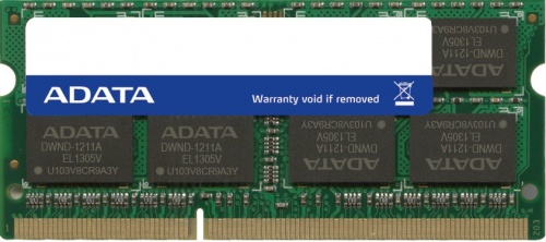 Memoria RAM Adata LoVo DDR3, 1600MHz, 4GB, CL11, 1.35V, SO-DIMM