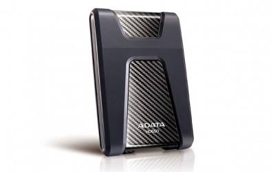 Disco Duro Externo Adata DashDrive Durable HD650 2.5'', 1TB, USB 3.0, SATA, Negro - para Mac/PC