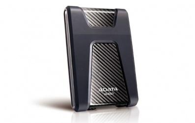 Disco Duro Externo Adata DashDrive Durable HD650 2.5'', 1TB, USB 3.0, SATA, Negro - para Mac/PC