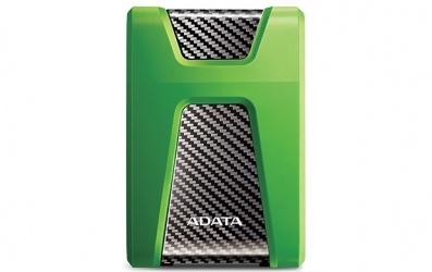 Disco Duro Externo Adata HD650X 2TB, USB 3.0, Verde, A Prueba de Agua, Polvo y Golpes - para Mac/PC