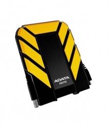 Disco Duro Externo Adata DashDrive Durable HD710 2.5'', 2TB, USB 3.0, Amarillo, A Prueba de Agua y Golpes - para Mac/PC