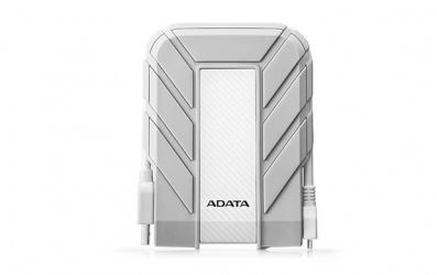 Disco Duro Externo Adata HD710A, 1TB, USB 3.0, Blanco, A Prueba de Agua, Polvo y Golpes - para Mac/PC