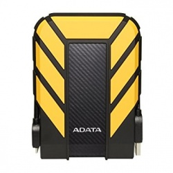 Disco Duro Externo Adata HD710 Pro 2.5'', 1TB, USB 3.0, Negro/Amarillo, A Prueba de Agua y Golpes - para Mac/PC