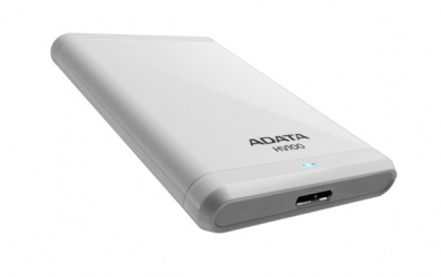 Disco Duro Externo Adata HV100 2.5'', 2TB, SATA, USB 3.0, Blanco - para Mac/PC