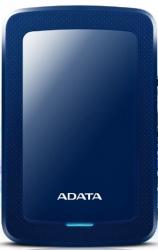 "Disco Duro Externo Adata HV300 2.5"", 2TB, USB 3.1, Azul - para Mac/PC"